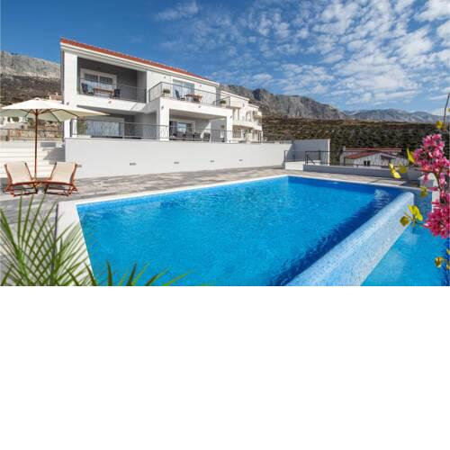 Amazing home in Kucine w/ Outdoor swimming pool, WiFi and 4 Bedrooms