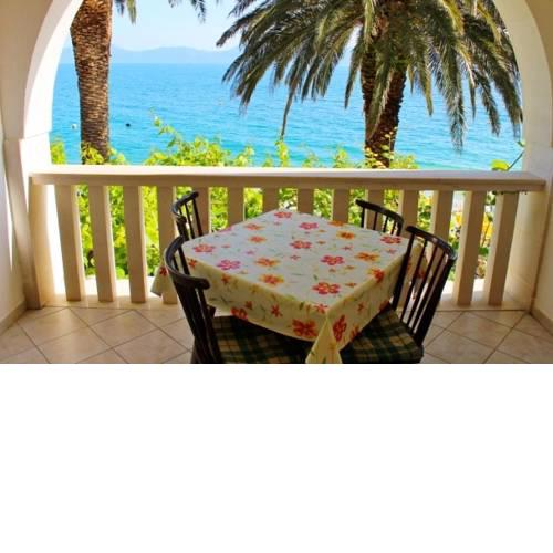 Apartment in Brist with Seaview, Loggia, Air condition, WIFI (3772-2)