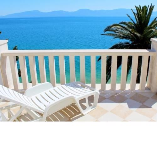 Apartment in Brist with Seaview, Terrace, Air condition, WIFI (3772-8)