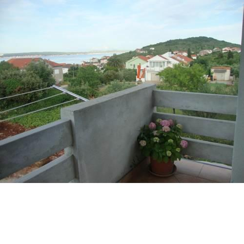 Apartment in Kali with sea view, terrace, air conditioning, Wi-Fi (4573-1)