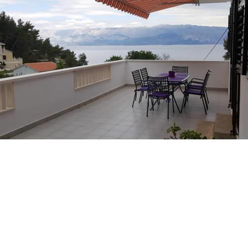 Apartments by the sea Cove Bristova, Hvar - 5716