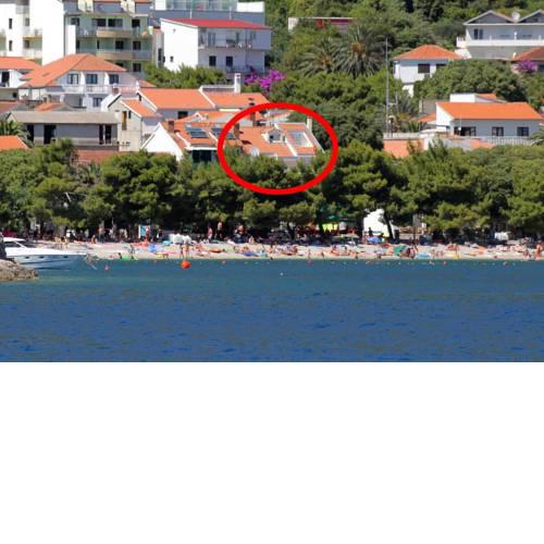 Apartments by the sea Drvenik Donja vala, Makarska - 6658