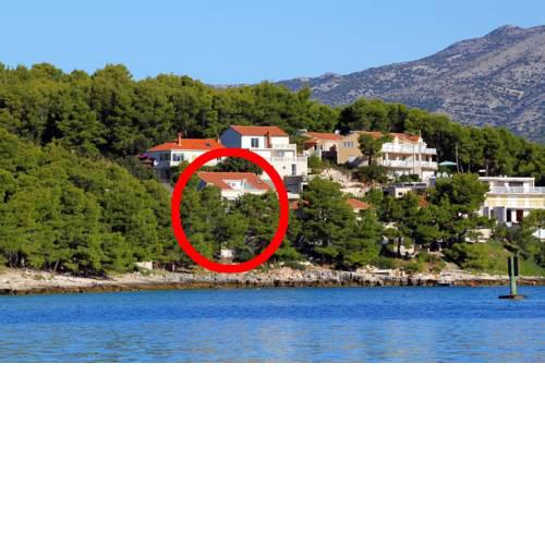 Apartments by the sea Lumbarda, Korcula - 9172