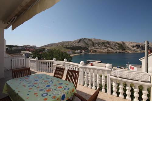 Apartments by the sea Metajna, Pag - 6498