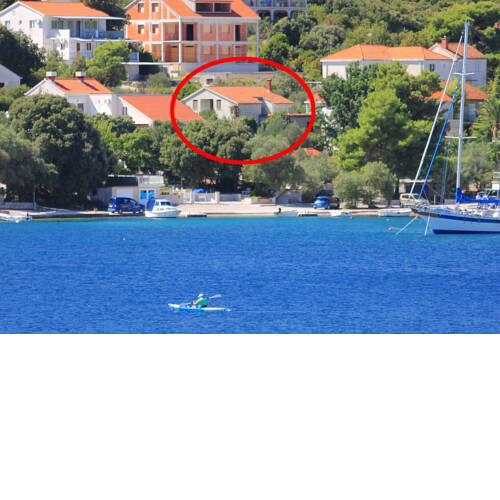 Apartments by the sea Zrnovska Banja, Korcula - 9705
