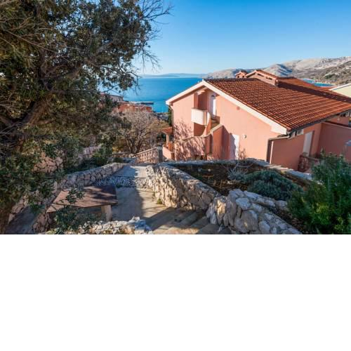Apartments in Stara Baska/Island Krk 34416