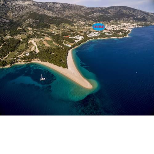Bol villa for 12 island Brac Zlatni rat private heated pool