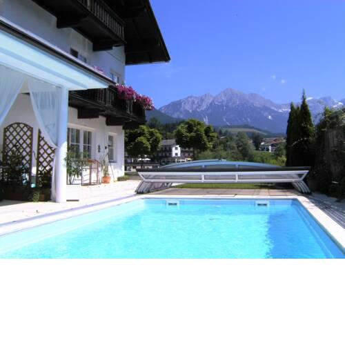 Nice house in the pleasant village center of Söll with swimming pool (May-Oct)