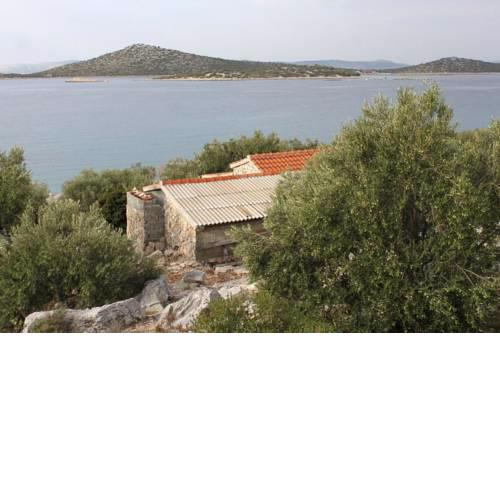 Seaside secluded house with a swimming pool Cove Vitane, Pasman - 8481