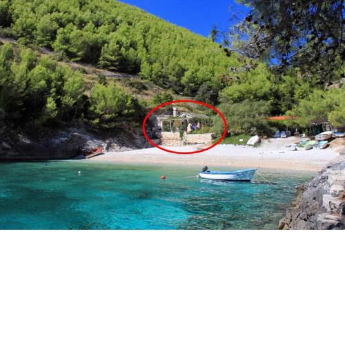 Secluded fisherman's cottage Cove Bratinja Luka, Korcula - 11653