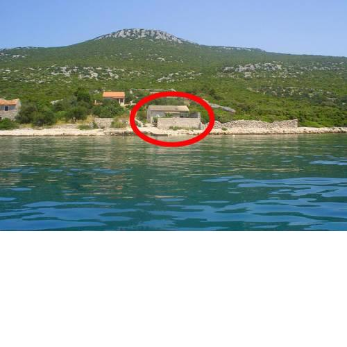 Secluded fisherman's cottage Cove Cerenje, Pasman - 8477