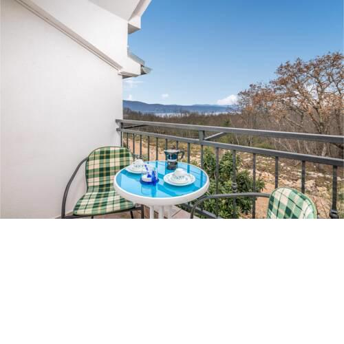 Stunning apartment in Brzac with WiFi and 1 Bedrooms