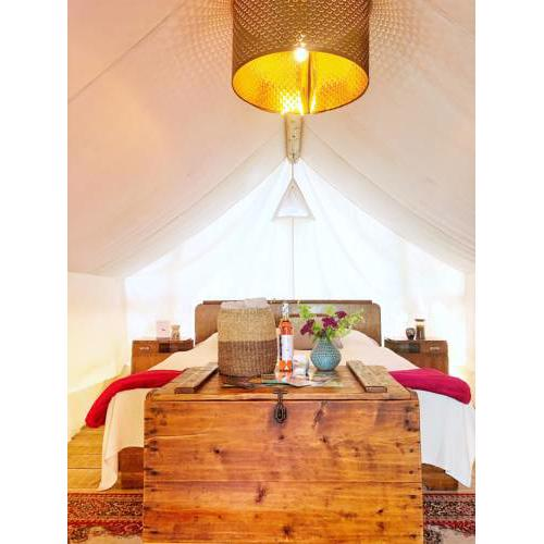 the Lovsin estate Luxury tent